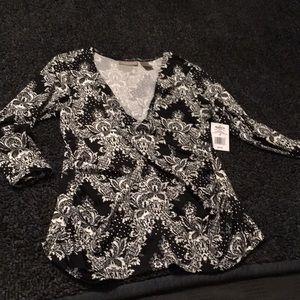 NWT Women's Kim Rogers blouse